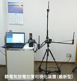 静電気放電位置可視化装置(最新型)